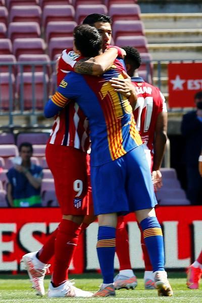 Barcelona y Atlético dejan LaLiga en manos del Real Madrid