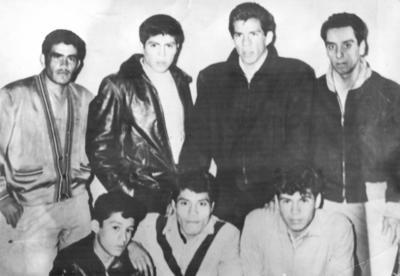 "Julio Segura, Oscar Martínez, Antonio Vazquez, Eleasar Rangel, Fernando ""lechuga"" Pérez, Alfredo Díaz, Lorenzo Manriquez."