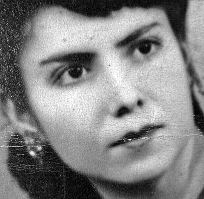 Doña Elvira Márquez de Rebollozo en 1945.