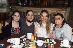 10052021 Lety Saenz, Gabriela Saenz, Dulce Saenz y Guadalupe Correa.