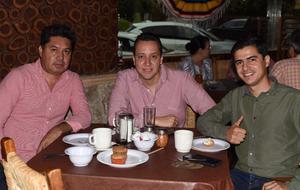 10052021 José Luis Delgado, Francisco Padilla y Marlon Lòpez.