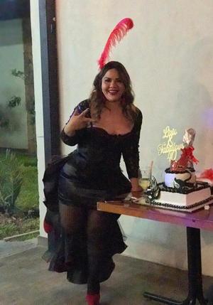 09052021 En días pasados celebró su cumpleaños Lirio Zamora en compañía de amigos y familiares con una divertida fiesta.