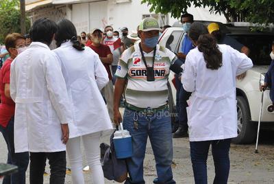 Arranca jornada de vacunación antiCOVID de segundas dosis en Gómez Palacio