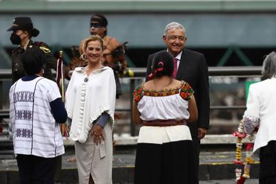 AMLO y  Rousseff reivindican el legado de la gran Tenochtitlan