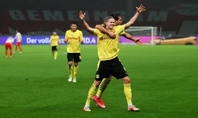 Con dobletes de Haaland y Sancho, Dortmund gana la Copa de Alemania