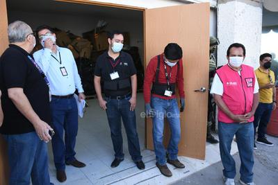 Llegan boletas electorales a Torreón para elección federal del 6 de junio