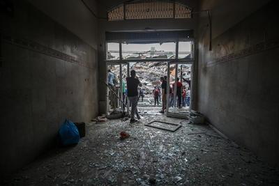 Un portavoz militar israelí agregó que Hamás escogió ese edifico para albergar sus activos precisamente debido a la presencia allí de medios de comunicación, que dijo son utilizados como escudos humanos del grupo.