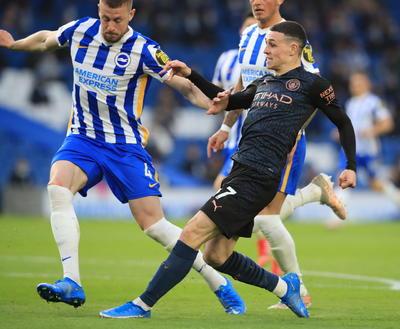 Brighton remonta ante el Manchester City en la Premier League