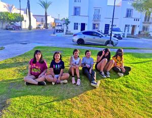 20052021 Allison, Danna, Camila, Paola, María y Yaretzi en reciente reunión de amigas.