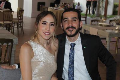 Jenifer y Rodrigo.
