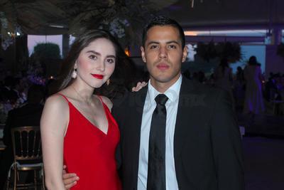 Dana Puente y Fernando Hoyos.