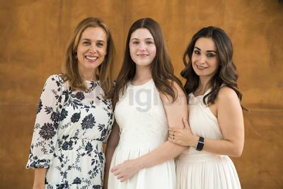 Ana Cristina Cantú, Viviana Ruiz y Mónica Pérez.