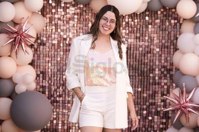 Jimena Ayoub López celebrando su cumpleaños.