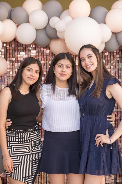 Adriana Caniceros, Frida López y Ana Paola López