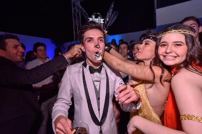 Juan Pablo Rodríguez celebrando su cumpleaños.