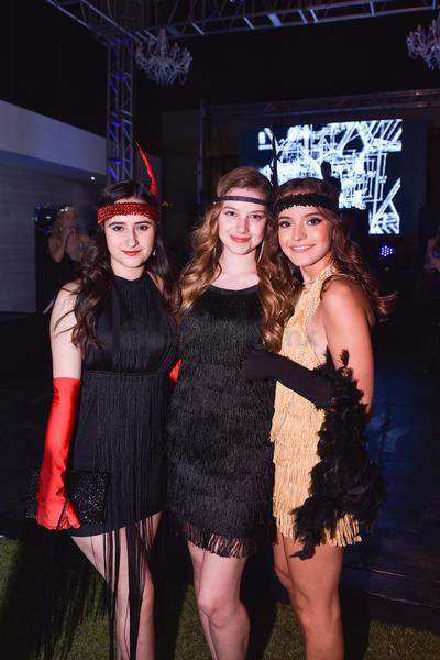 Astrid, Sofía y Sofía.