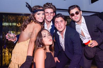 Sofía y Juan Pablo celebran sus cumpleaños junto a sus amistades.