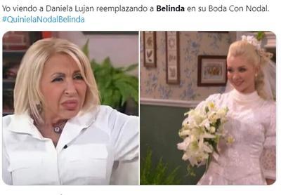 Internautas 'apadrinan' con memes a Belinda y Nodal tras compromiso