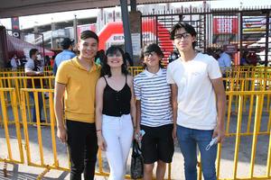 28052021 Cristian, Zania, Alex y Rigo.