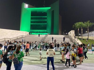 Laguneros festejan el subcampeonato de Santos