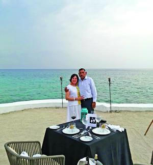30052021 Festejando su 31 aniversario en la isla de Cozumel, Quintana Roo el pasado 31 de abril.