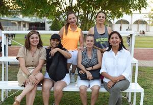 02062021 Miguel Muñoz, Javier Vitela, Luz Alicia de Vitela, Juan Antonio García, María de la Paz y Belarmino Fabián Rimada Peña.