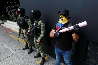 El desgaste marca una nueva jornada de Paro Nacional en Colombia