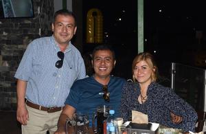 03062021 Lázaro Rey, Karim Villegas y Karime Tello.