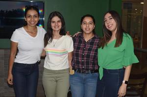 03062021 Vivi Zapico, Sofi Murillo, Katia Zapico, Mely Reyes.