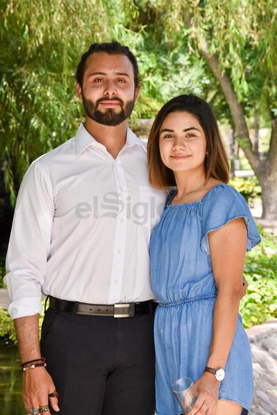 Sebastián y Estefanía.
