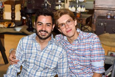 Andrés y Diego.