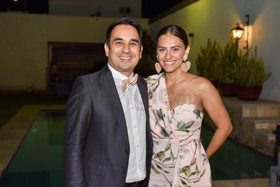 Agustín y Cynthia.