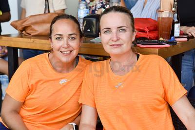 Arely García y Lorena Tinoco.