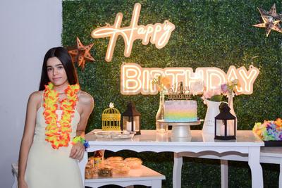 Susana García Hidrogo celebra su 18 años.