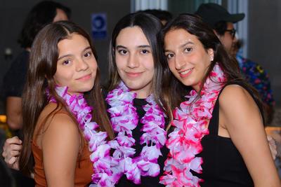 Tamara Salas, Sofía Mares y Mariana Saldaña.