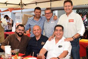04062021  Rafa Cortez, José Luis Orozco, Marco Camacho, Manolo Zorrilla, Jorge Galván y Luis Ángel Juárez