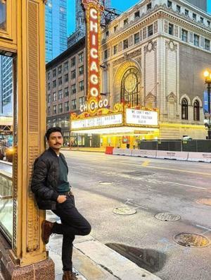 04062021 Edgar Z. en  la ciudad de Chicago.