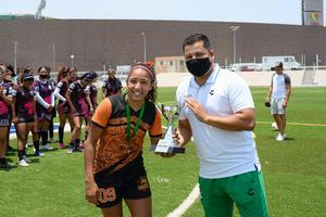 04062021 Leydi Jurado, campeona de goleo del torneo TSM femenil CL 21, el cual se jugó el pasado domingo.