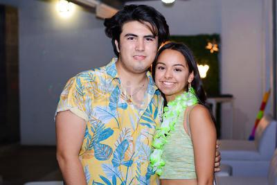 Max y Andrea.