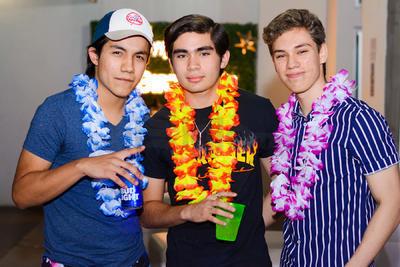 Óscar Alfani, Tulio Morato y Rodrigo González