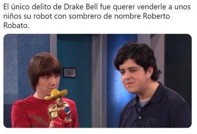 Llueven los memes de la detención de Drake Bell