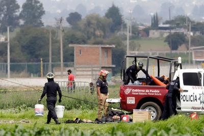El gobernador de Puebla, Miguel Barbosa, dijo el lunes que se trata de un asunto de enorme riesgo.