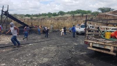 Colapsa mina en Múzquiz, Coahuila; hay siete mineros atrapados