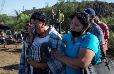 Jesús Rodríguez Ríos, de oficio Palero, responsable de verificar que vayan apuntalando la mina en Múzquiz, aseguró que eran 17 los hombres que estaban laborando en las diagonales 4 y 5 en el momento que se les empezó a meter el agua.