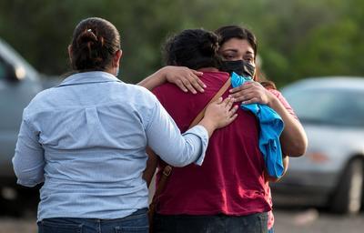 Rodríguez Ríos confía en que sus compañeros hayan podido trepar y resguardarse.
