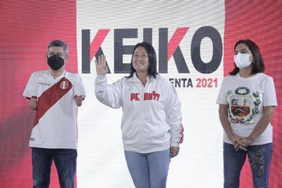 Resultados oficiales dan ligera ventaja a Keiko Fujimori en Perú