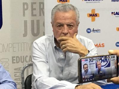 Jorge Zermeño dijo que los resultados no le favorecen.