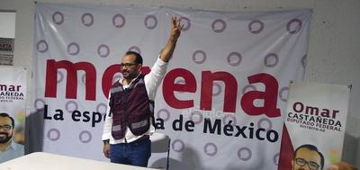 Omar Castañeda, celebró en La Laguna de Durango.