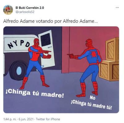 Alfredo Adame desata memes tras elecciones