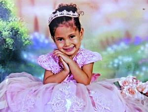 06062021 Sofía Alejandra en su tercer cumpleaños el día 14 de mayo de 2021.